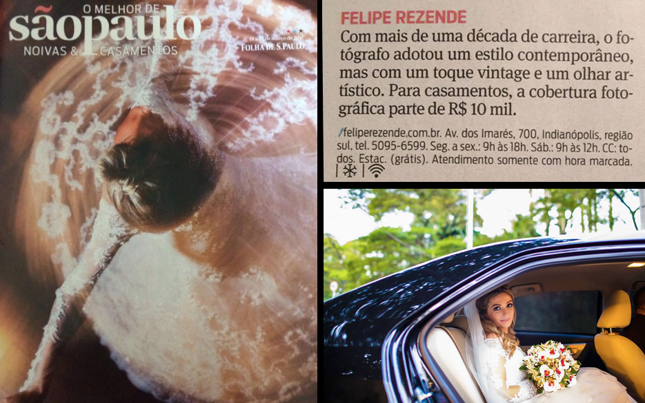 Melhor Fotografo Casamento SP Melhores Folha de São Paulo
